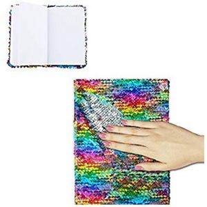 🆕Urban Outfitters Rainbow Sequin Journal Book